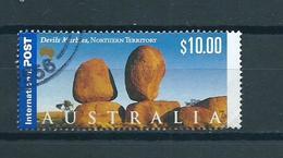 2000 Australia $10.00 Devils Marbles Used/gebruikt/oblitere - 2000-09 Elizabeth II