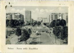 MILANO  Piazza Della Repubblica  Tram  Tramway - Milano (Milan)