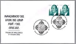 Matasellos INAUGURACION LOCAL DEL GRUPO FILATELICO. Palma De Mallorca, Baleares, 2002 - 1931-Hoy: 2ª República - ... Juan Carlos I