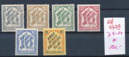 D.-Reich Nr. D9-14 *   (ed 4479  ) Siehe Scan - Deutschland