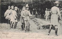 Motiv- Kaiser Jagd   ....-alte Karte     (ke 699  ) Siehe Scan - Familles Royales