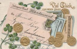 Motiv- Geld... ....-alte Karte     (ke 693  ) Siehe Scan - Monnaies (représentations)