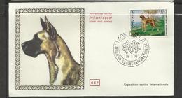 Monaco FDC YT 880 A  Chien Dog  Hund Perro Hundo Pies - Honden
