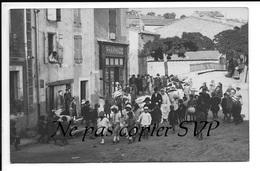 RARISSIME Carte Photo - LAURENS 34 - Près Bédarieux, Autignac, Magalas ... - France