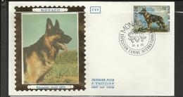 Monaco FDC YT 922 B Chien Dog  Hund Perro Hundo Pies - Honden