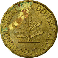 Monnaie, République Fédérale Allemande, 10 Pfennig, 1979, Stuttgart, TB - 10 Pfennig