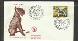 Monaco FDC YT 963 C Chien Dog  Hund Perro Hundo Pies - Honden