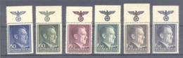 General Gouvernement  Michel # 83 - 88  **  OR Mit NSDAP Wappn Mit Reichsadler Und Swastika - Besetzungen 1938-45