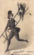 Madame Ramoneur ! Oblitérée 20.1.1903 - Métiers