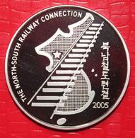 North Korea's Silver Coin - Korea, North