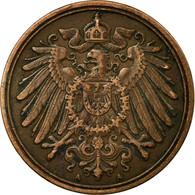 Monnaie, GERMANY - EMPIRE, Wilhelm II, Pfennig, 1896, Berlin, TB+, Cuivre, KM:10 - 1 Pfennig