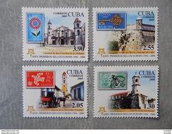 Série 4 Timbres Neuf Cuba 2006 : Cinquantenaire Du Timbre Europa - Europa-CEPT