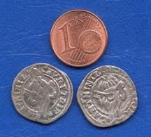 2  Pieces   1654 +1656  Arg  A  Identifie - Zu Identifizieren