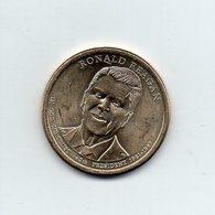 Stati Uniti - 2016 - 1 Dollaro - Ronald Reagan - (40° Presidente 1981 -1989) - Vedi Foto - (MW2255) - Emissioni Federali