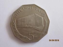 Tanzania: 5 Shillings 1976 Anniversary Of The Bank Of Tanzania - Tanzanie