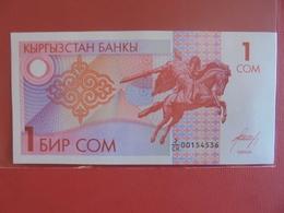 KIRGHIZISTAN 1 SOM 1993 PEU CIRCULER/NEUF - Kyrgyzstan