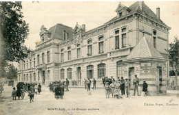 MONTLAUR   =  Le Groupe Scolaire    654 - Frankrijk