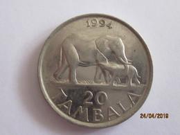 Malawi: 20 Tambala 1994 - Malawi