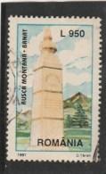 #198  TURISM MONUMENT, 1997, Mi 5274, USED, ROMANIA. - 1948-.... Républiques