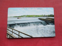 Dam Above The Salmon Pool  Bangor Maine  Ref 3296 - Etats-Unis