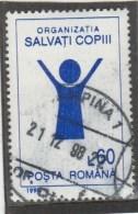 #198  CHILD PROTECTION ORGANISATION, 1995, Mi 5062, USED,  ROMANIA. - 1948-.... Républiques