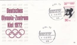 Germany Cover 1972 Olympic Games München - Deutsches Olympia Zentrum ARD-ZDF Kiel (DD10-14) - Summer 1972: Munich