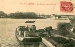 CASTELNAUDARY   =  Grand Bassin Et Canal    655 - Castelnaudary