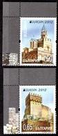 Bulgarie Bulgaria 4310/11 Europa Châteaux - Europa-CEPT