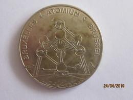 Belgique: Médaille Touristique Atomium Bruxelles - Autres