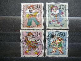 Puppets # Berlin Germany 1970 Used #Mi. 373/6 - [5] Berlin