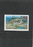 Andorre Français Neuf **  1986  N° 351 Tourisme.  Le Lac D'Angonella - Neufs
