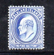 APR676 - FALKLAND 1904 , Yvert N. 21  Nuovo  *   (2380A) . - Falkland