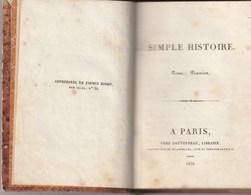 NOTICE HISTORIQUE DE MISTRISS INCHBALD - Tome Premier - Libri, Riviste, Fumetti