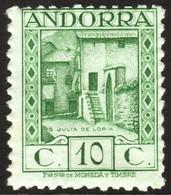 ~~~ Spanish Andorra Andorre 1929 - Julia De Loria  - Perf 11½  - A000,836 - Mi. 17 B ** MNH - CV 17.00 Euro    ~~~ - Spanisch Andorra
