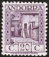 ~~~ Spanish Andorra Andorre 1929 - Julia De Loria  - Perf 11½  - A000,898 - Mi. 19 B ** MNH - CV 25.00 Euro    ~~~ - Spaans-Andorra