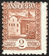 ~~~ Spanish Andorra Andorre 1935 - La Vall  - Perf 11½  - Mi. 28 A ** MNH  ~~~ - Andorra Española