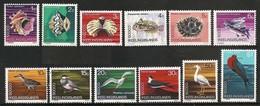 MDA-BK1-041  MINT ¤  COCOS ISLANDS 1964 12w In Serie  ¤ SCHELLS  ANIMALS - OISEAUX - BIRDS - PAJAROS - VOGELS - VÖGEL - - Oiseaux
