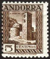 ~~~ Spanish Andorra Andorre 1935 - San Juan De Caselles - Perf 11½  - Mi. 29 A ** MNH  ~~~ - Andorra Española
