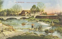 D 83 - BRIGNOLES - L'Eglise Du Pic De Pâques - Voyagée 1933 - Couleur - Brignoles