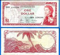 Caraibe Est 1 Dollar 1965 Sign 9 Que Prix + Port Island Queen Paypal Skrill Bitcoin OK - Caraïbes Orientales