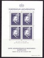 Liechtenstein 1938 Josef Rheinberger M/s ** Mnh (42499) - Blokken
