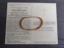 Haest,De Beukelaer,Retie 1881,St.Antonius Brecht 1954. - Religion & Esotérisme