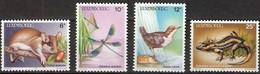 MDA-BK1-064  MINT ¤  LUXEMBOURG 1987 4w In Serie  ¤  ANIMALS - OISEAUX - BIRDS - PAJAROS - VOGELS - VÖGEL - - Oiseaux