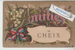 CHEIX : Amitiés,Muguet.(coin Faible). - France