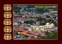 Guatemala Antigua Guatemala Aerial View UNESCO New Postcard - Guatemala