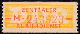 16-M-Neudruck Dienst-B, Billetform, Dünne Balken, ** Postfrisch - DDR