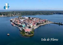 Guatemala Flores Island Aerial View New Postcard - Guatemala