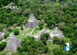 Guatemala Tikal Aerial View UNESCO New Postcard - Guatemala