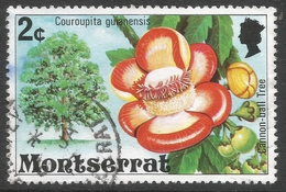 Montserrat. 1976 Flowering Trees. 2c Used. SG 372 - Montserrat