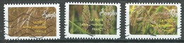 France 2017 Une Moisson De Céréales 3 Timbres Différents Oblitéré ° - Used Stamps
